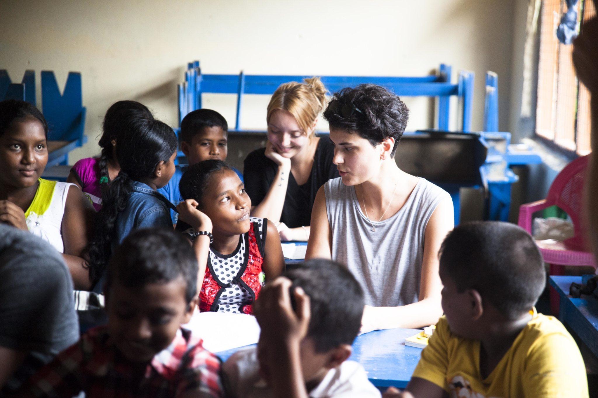 PEaCe engagiert sich u.a. mit Bildung gegen die sexuelle Ausbeutung von Kindern