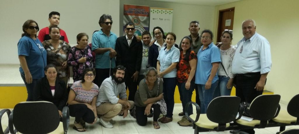 Workshop for the financial inclusion with people of visual impairments
