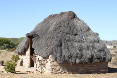 Solarpanel auf Häuserdach
