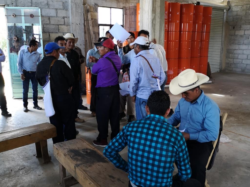 Treffen der Mitglieder einer der Imkereikooperativen.