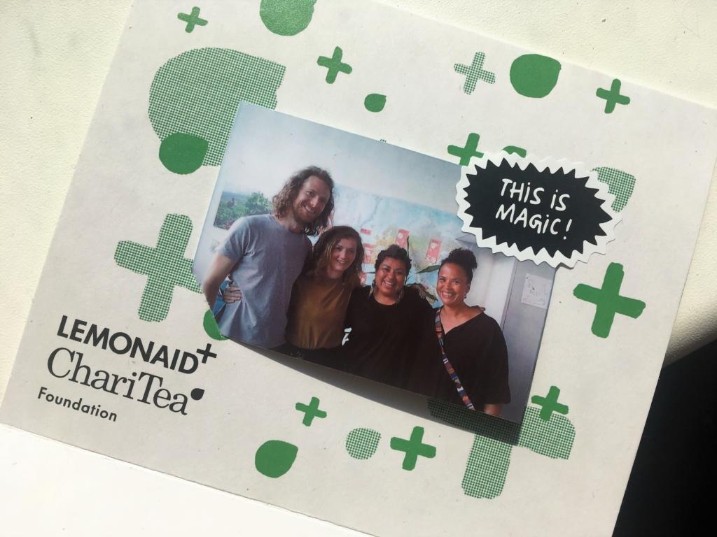 Lisvy Ramos und das Team von Lemonaid & ChariTea e.V.