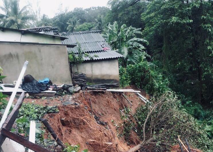 A landslide in Londa, India.