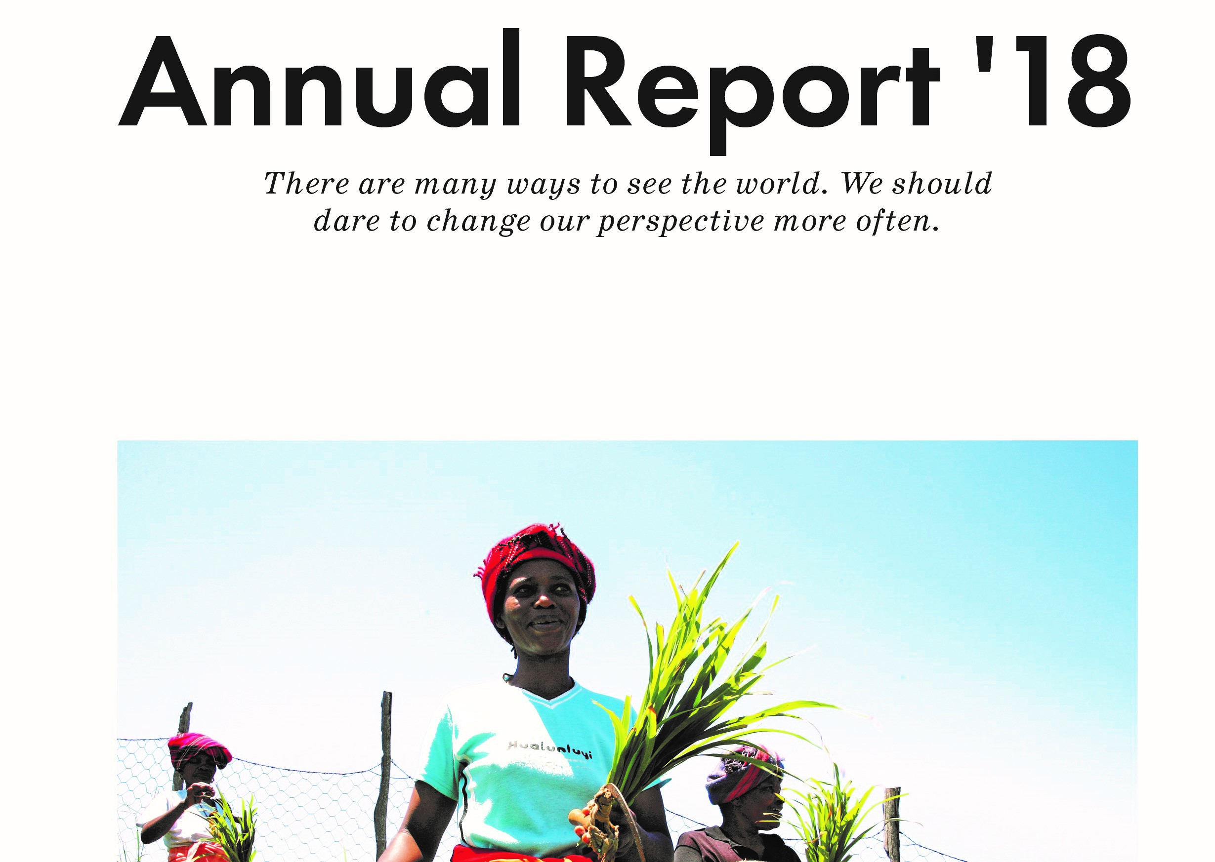 All in one boat – our first annual report